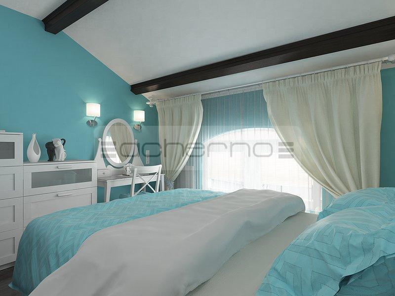 Schlafzimmer Deko Aus Holz: Farbideen schlafzimmer. Vorhange mit ...